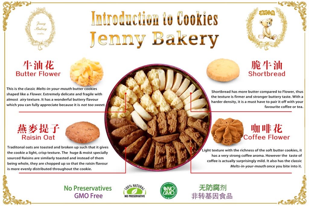 Introduction to Jenny Bakery 4Mix Butter Cookies