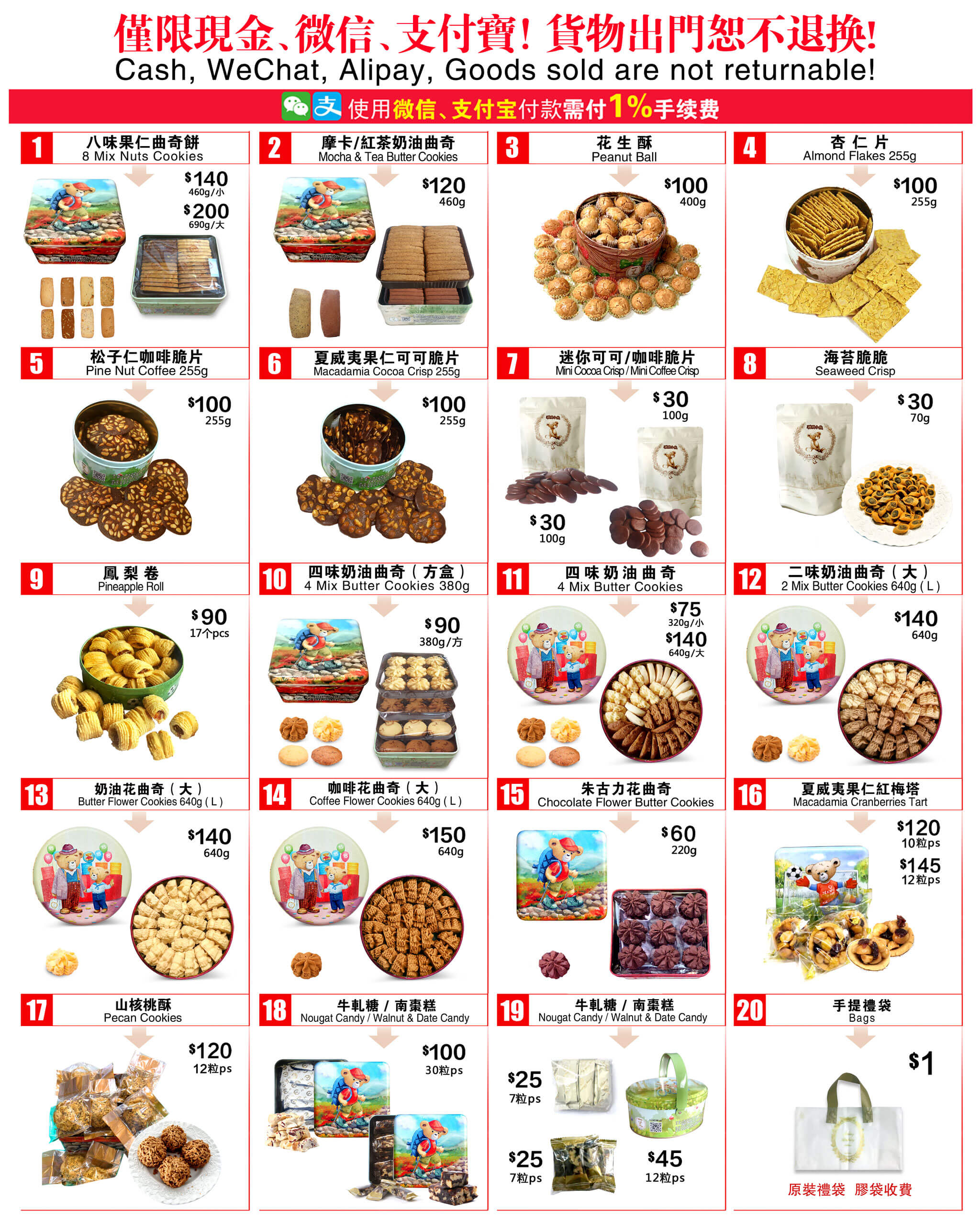 Cookies | PriceList2021v3